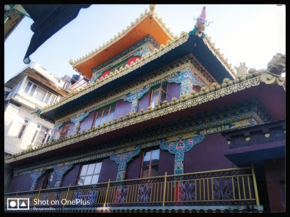 kalachakra temple .mcleodganj