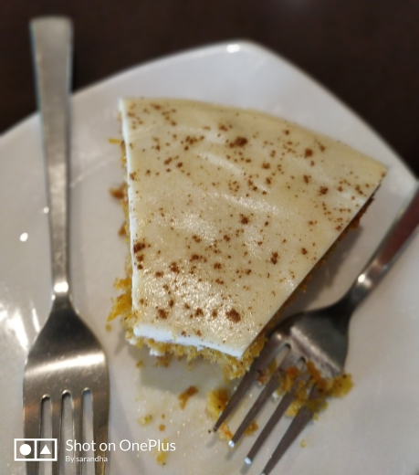 the carrot cake that had me crave for more